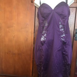 Grape coloured Chemise, SzL.                   B13